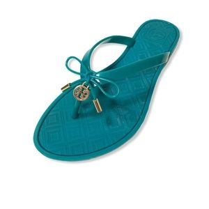 Tory Burch Jelly Bow Thong Flip Flops
